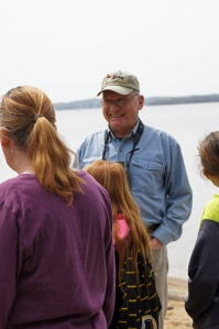 Terry F. Liercke, president of the Audubon Society of Northern Virginia, led a Nature/Bird Walk.