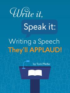 How can i write a speech