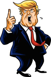 Donald Trump Shouting, You're Fired © Can Stock Photo doddis